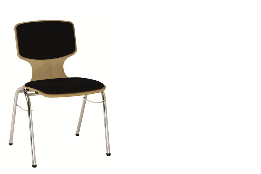 ein Holzschalenstuhl Modell 103 von Kleinkopf