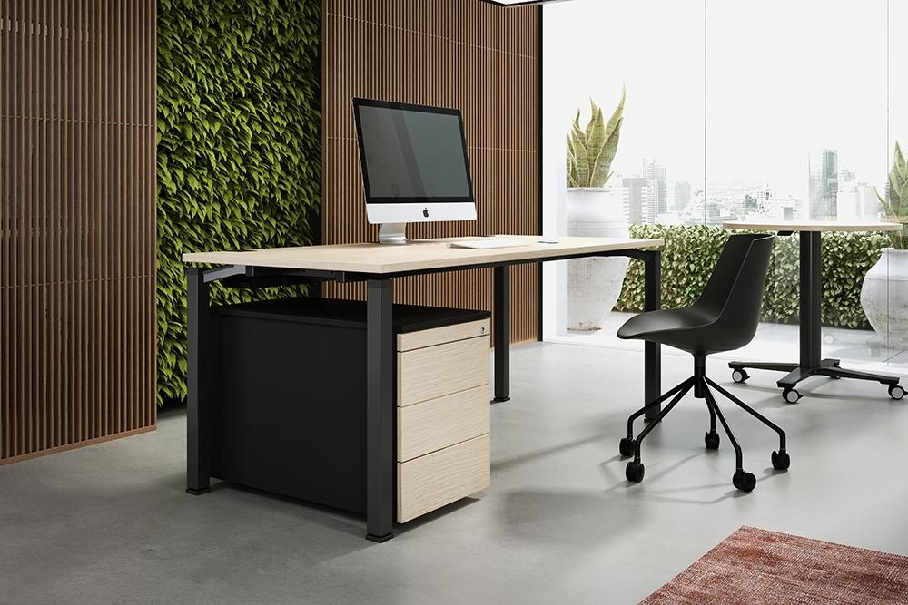 ein Schreibtisch OKA Q 50
