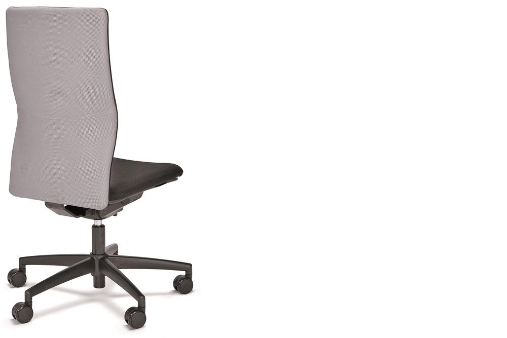 ein Drehstuhl seno comfort ohne Armlehnen