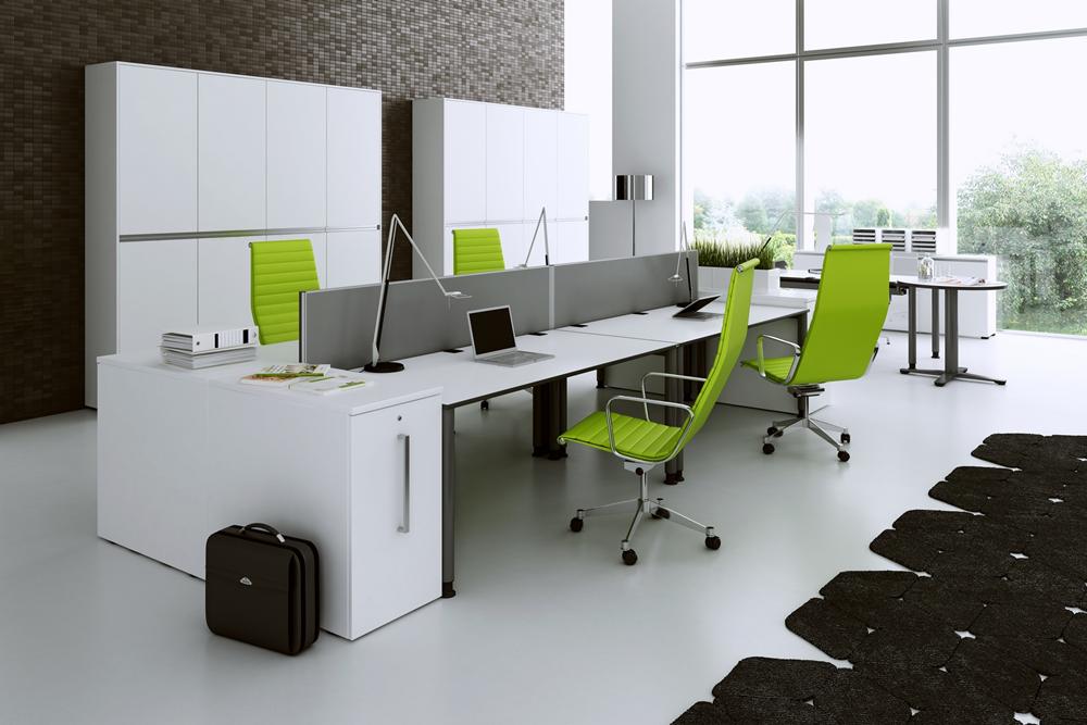 Schreibtisch Oka simply mit Container